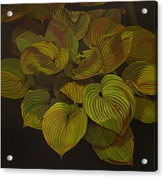 Arkansas Green Acrylic Print by Thu Nguyen