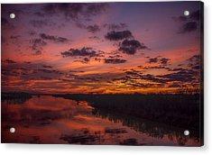 Arkansas River Rise Acrylic Print