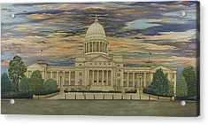 Arkansas State Capitol Acrylic Print