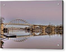 Arkansas Sunrise Acrylic Print by Ray Devlin