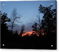 Arkansas Sunset Acrylic Print