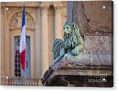 Arles Place De La Republique Acrylic Print by Brian Jannsen