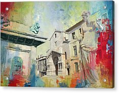 Arles Roman And Romanesque Monuments Acrylic Print by Catf