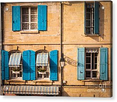 Arles Windows Acrylic Print by Inge Johnsson
