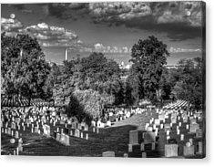 Acrylic Print featuring the photograph Arlington Cemetery by Ross Henton