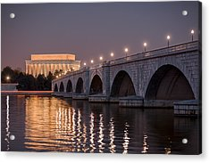 Arlington Memorial Bridge Acrylic Print