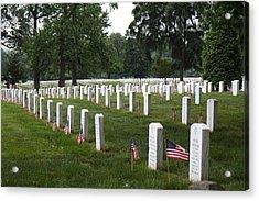 Arlington National Cemetery - 01132 Acrylic Print by DC Photographer