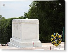 Arlington National Cemetery - Tomb Of The Unknown Soldier - 01136 Acrylic Print by DC Photographer