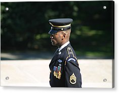Arlington National Cemetery - Tomb Of The Unknown Soldier - 121211 Acrylic Print by DC Photographer