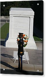 Arlington National Cemetery - Tomb Of The Unknown Soldier - 121212 Acrylic Print by DC Photographer