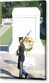 Arlington National Cemetery - Tomb Of The Unknown Soldier - 121214 Acrylic Print by DC Photographer