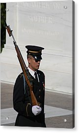 Arlington National Cemetery - Tomb Of The Unknown Soldier - 121216 Acrylic Print