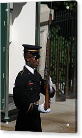 Arlington National Cemetery - Tomb Of The Unknown Soldier - 12122 Acrylic Print by DC Photographer