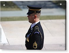 Arlington National Cemetery - Tomb Of The Unknown Soldier - 121224 Acrylic Print by DC Photographer
