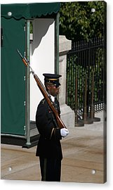 Arlington National Cemetery - Tomb Of The Unknown Soldier - 12123 Acrylic Print by DC Photographer