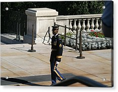 Arlington National Cemetery - Tomb Of The Unknown Soldier - 12125 Acrylic Print by DC Photographer