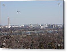 Arlington National Cemetery - View From Arlington House - 12122 Acrylic Print by DC Photographer
