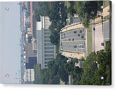 Arlington National Cemetery - View From Arlington House - 12126 Acrylic Print by DC Photographer