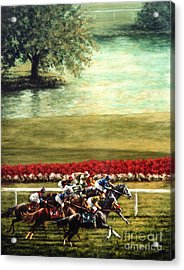 Arlington Park Acrylic Print by Thomas Allen Pauly