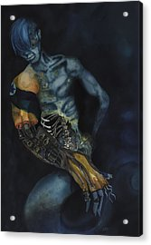 Acrylic Print featuring the painting Arm by Michele Engling
