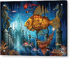 Armada Acrylic Print by Ciro Marchetti