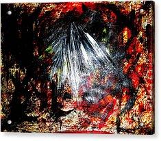 Armageddon 4 Acrylic Print by Richard W Linford