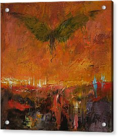 Armageddon Acrylic Print by Michael Creese