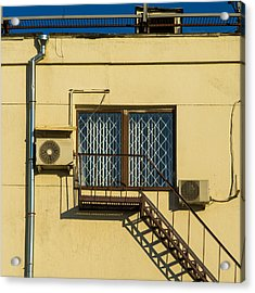 Armed To The Roof Acrylic Print by Alexander Senin