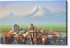 Armenia My Love Acrylic Print