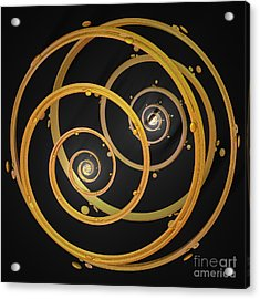 Armillary By Jammer Acrylic Print by First Star Art