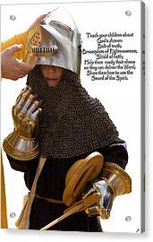 Armor Of God Acrylic Print