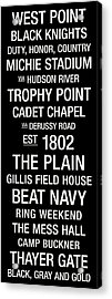 Army College Town Wall Art Acrylic Print by Replay Photos
