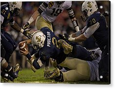 Army Versus Navy Acrylic Print by Mountain Dreams