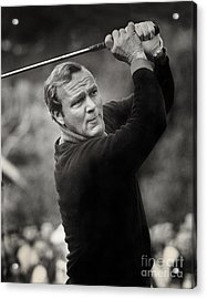 Arnold Palmer Pro-am Golf Photo Pebble Beach Monterey Calif. Circa 1960 Acrylic Print
