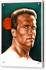 Arnold Acrylic Print by Timothy Scoggins