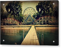 Arnolds Park Acrylic Print