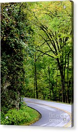 Around The Bend Acrylic Print