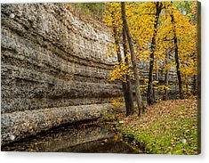 Around The Bend Acrylic Print by Gregory Ballos