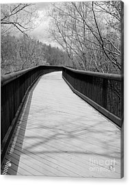 Acrylic Print featuring the photograph Around The Bend by Kristen Fox