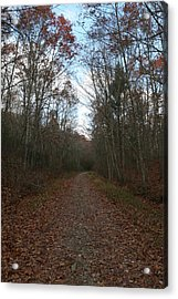 Around The Bend Acrylic Print by Neal Eslinger