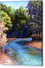 Around The Bend Acrylic Print by Tanja Ware