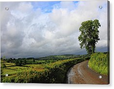 Around The Bend Acrylic Print by Theresa Selley