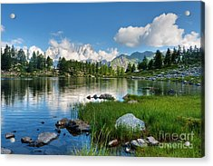 Arpy Lake - Aosta Valley Acrylic Print