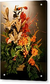 Arrangement Of Flowers Acrylic Print