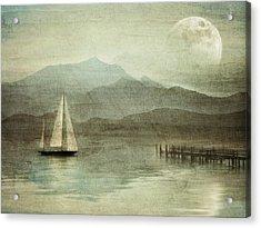 Arrival Acrylic Print by manhART