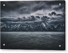 Arriving Storm Acrylic Print by Robert Fawcett