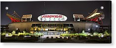 Arrowhead Night Acrylic Print by Thomas Zimmerman