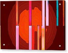 Arrows In My Heart Acrylic Print