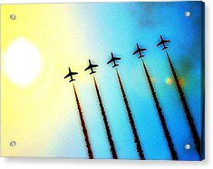 Arrows Acrylic Print by Stephen Richards