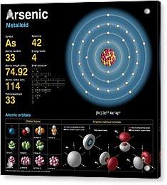 Arsenic Acrylic Print by Carlos Clarivan